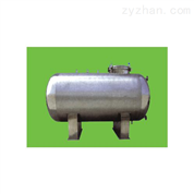 卧式保温蒸馏水储罐