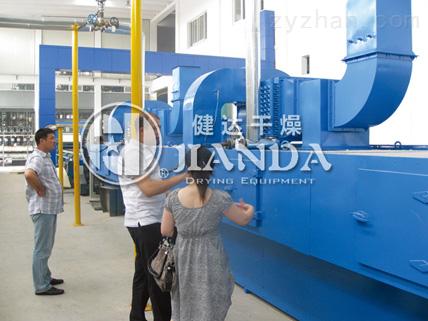 DWP係列噴射氣流帶式幹燥機