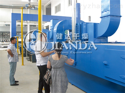 DWP系列喷射气流带式干燥机