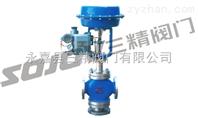 调节阀图片系列:SZJHQ、SZJHX型气动三通调节阀