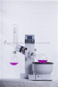 RE-2000A/2000B/2000E旋转蒸发器-主机电动升降+特氟隆锅+温度与转速液晶数显