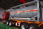 24m3混酸运输罐-江苏驰耐特内衬四氟防腐储罐厂家