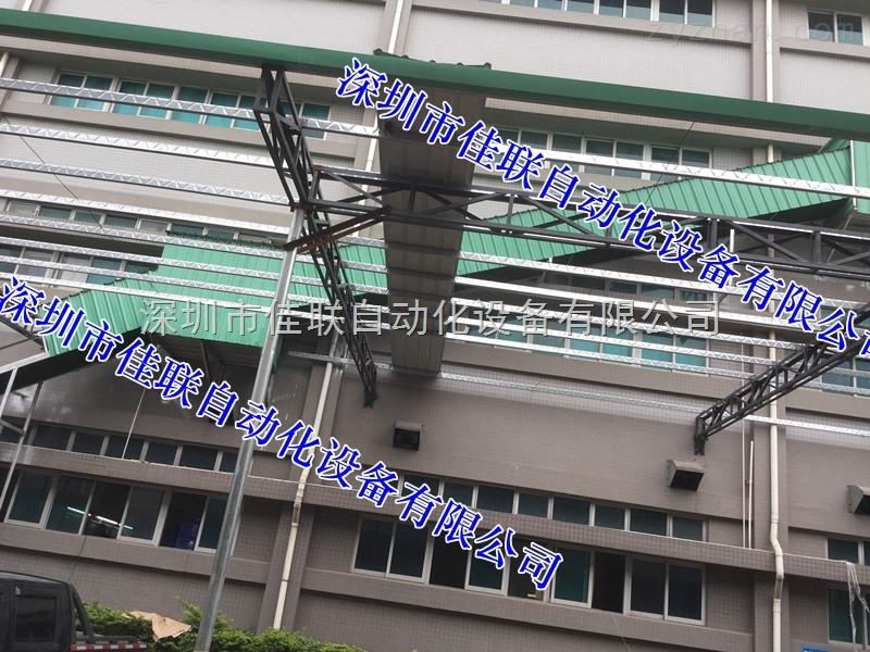 电商仓库出入库滑梯滑道可伸缩升降