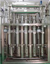 雙管板多效蒸餾水機生產設備