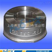 用于纯净管路及工业对夹双瓣止回阀