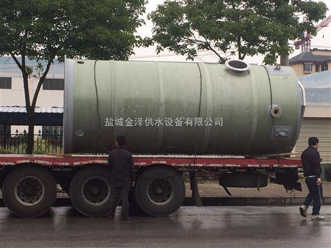 城市一体化雨水提升泵站概述