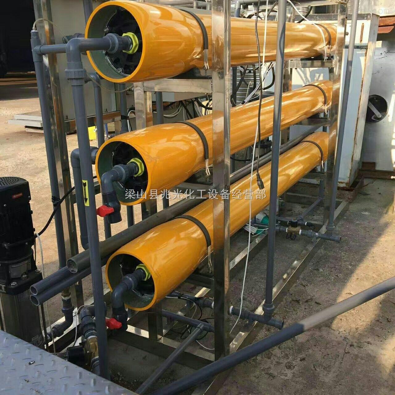 25吨-二手25吨30吨双级反渗透软化水处理装置