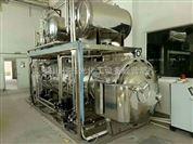 供应二手6立方不锈钢蒸汽回转式杀菌锅3立方卧式灭菌锅