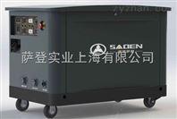 萨登10KW大型汽油发电机电启动三相380V