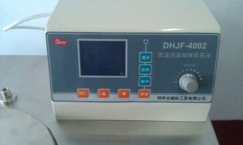 低温恒温槽操作面板