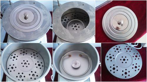 集热式恒温磁力搅拌器不锈钢盖